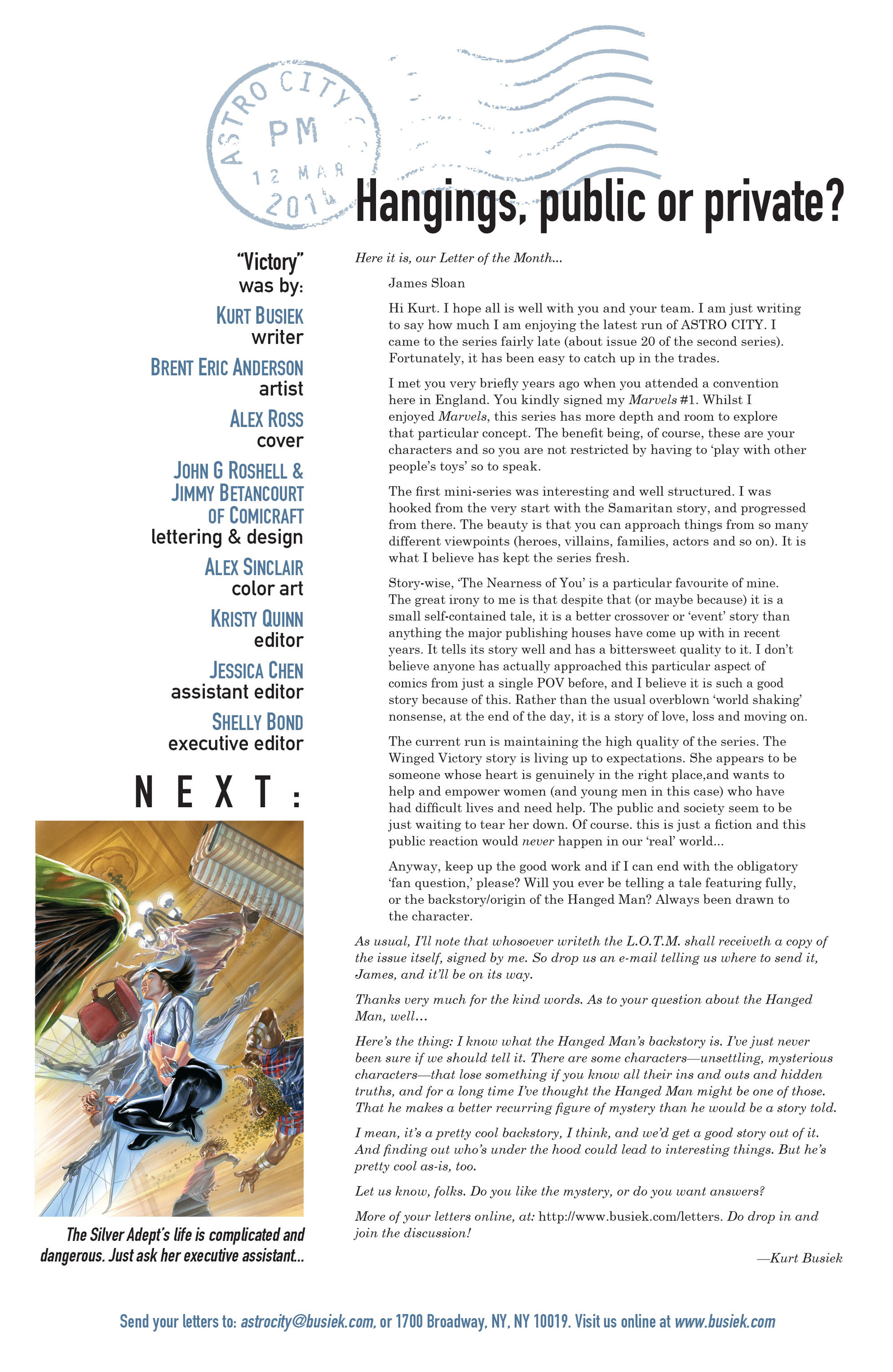 Read online Astro City comic -  Issue #10 - 26