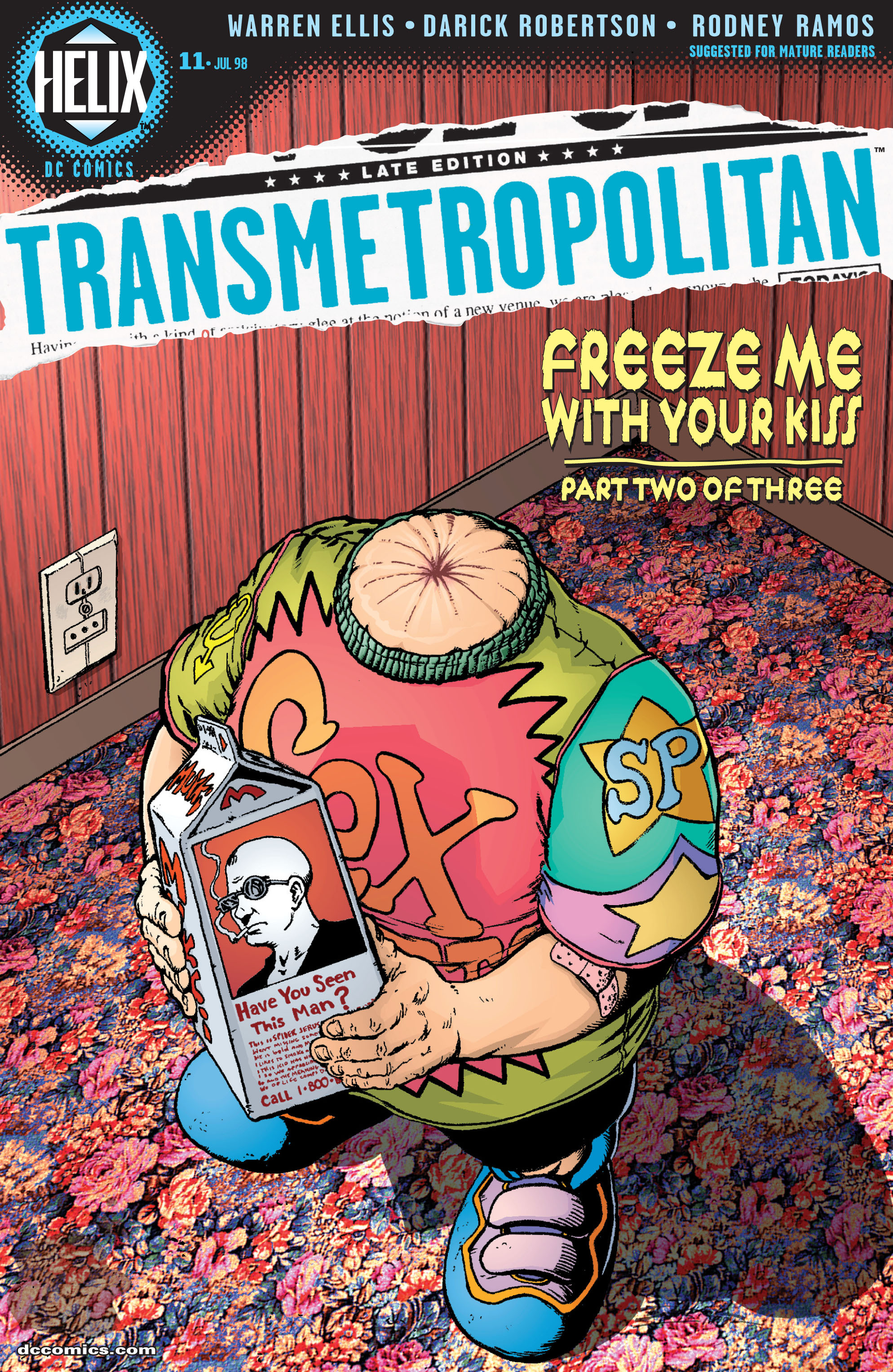 Read online Transmetropolitan comic -  Issue #11 - 1