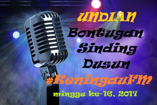 Undian Bontugon Sinding Keningau FM Minggu Ke-16