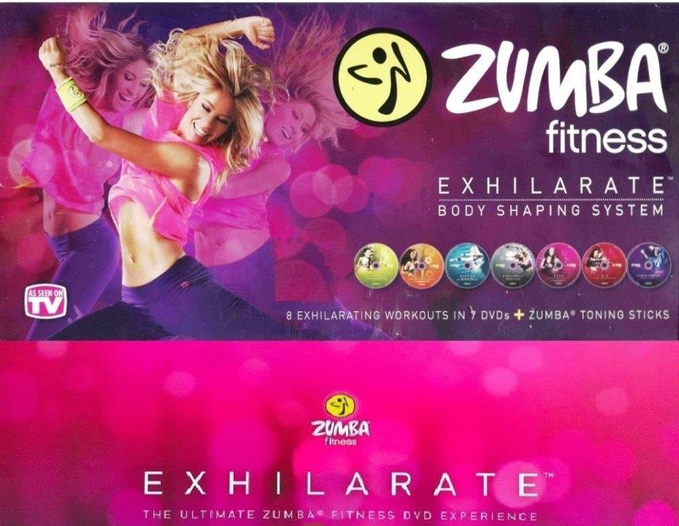 Zumba Fitness Exhilarate (Completo) [7 DVDrip + guias]