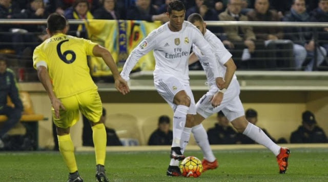 Real Madrid vs Villareal
