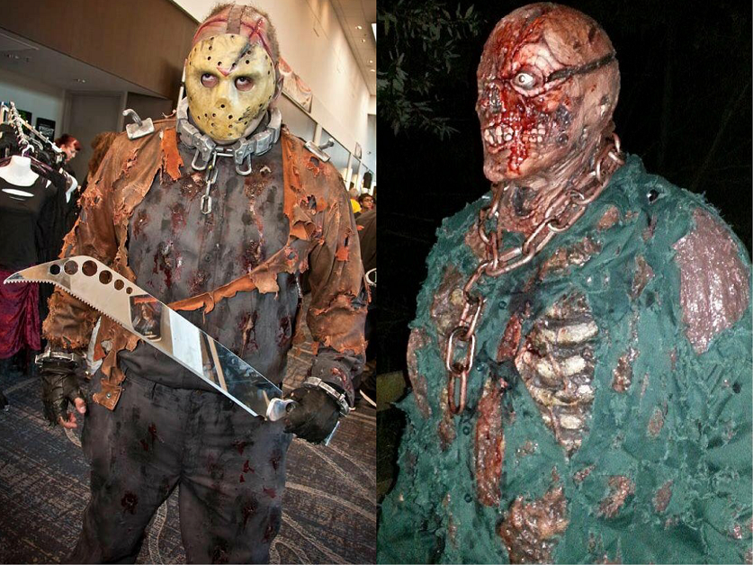 The ultimate jason voorhees costuming guide part 1 an ruben morales in his jason x and part 7 costumes solutioingenieria Gallery