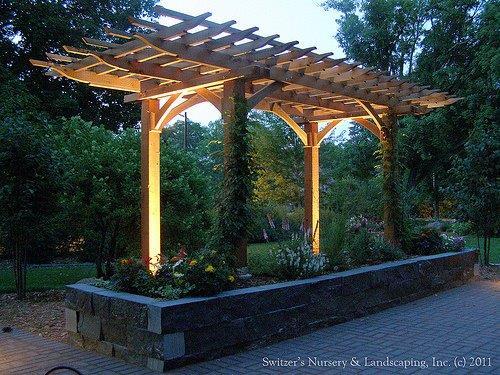 pergolas para jardin peque o image. Black Bedroom Furniture Sets. Home Design Ideas