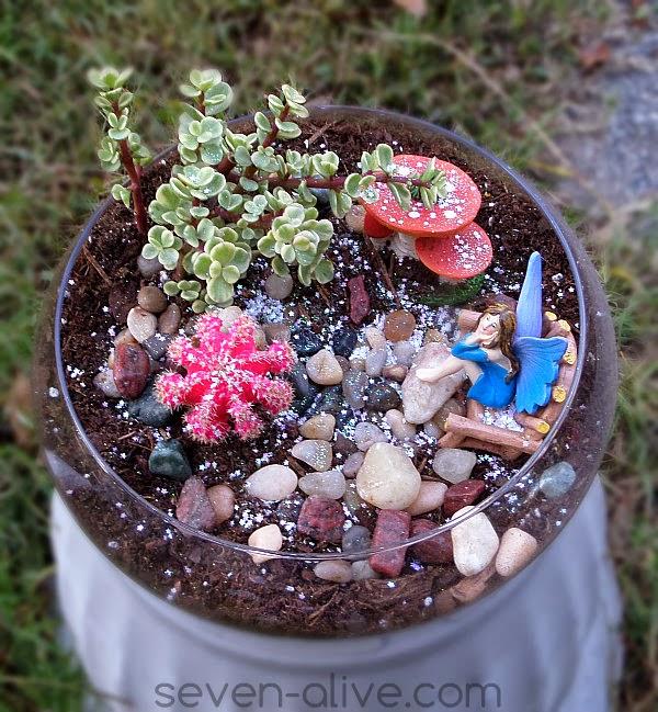 Garden Fairy Terrarium