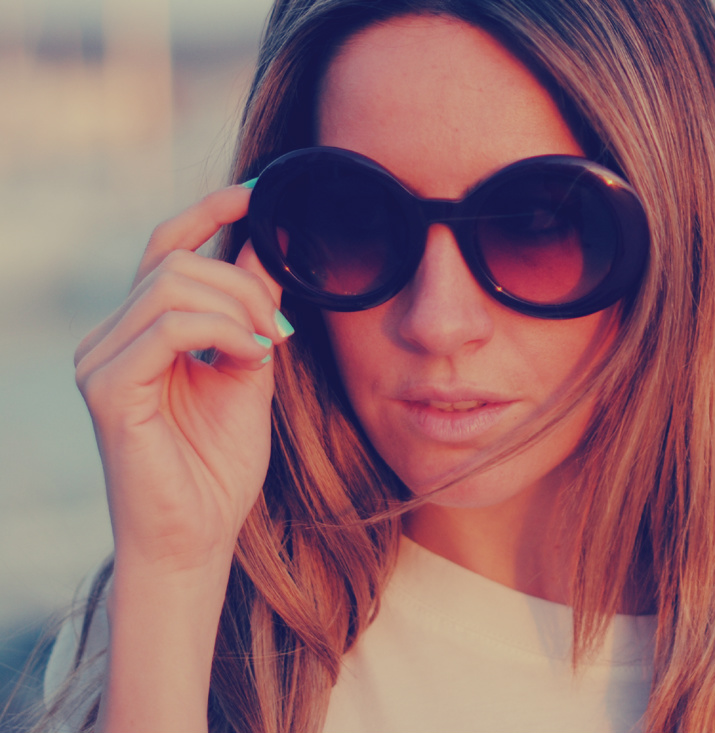 Blog de moda gafas de sol redondas tendencia 2012