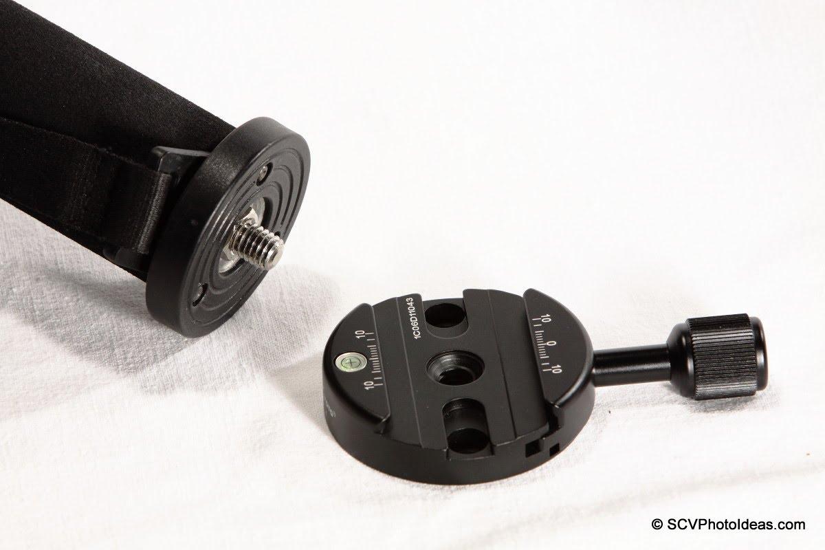 Sunwayfoto DDY-64 Discal QR clamp w/ Benro MA-96EX top plate
