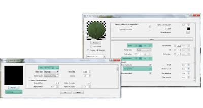 V-ray material editor: Leave settings