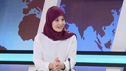 """إبنة تنس ..""""اكرام عثمان"""" تبدع في عالم  الكتابة النصية"""