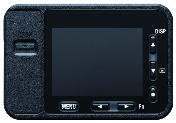 Sony RX0, вид сзади