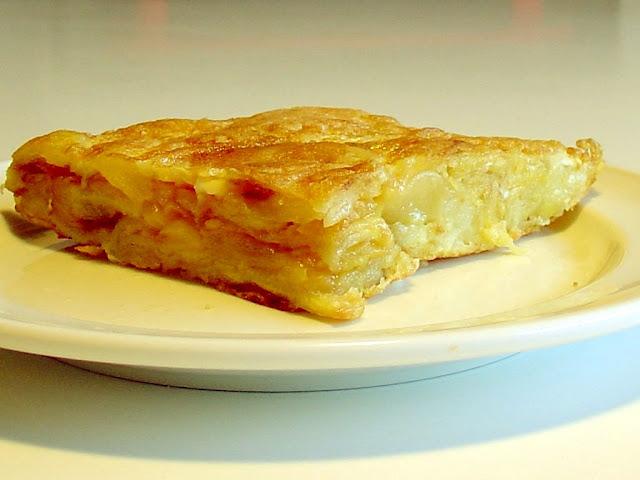 French Potato Omelette Recipe