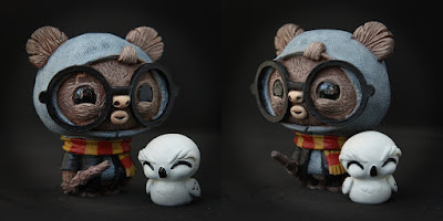 """PotterWok"" GeekWok Star Wars x Harry Potter Resin Figure by UME Toys"