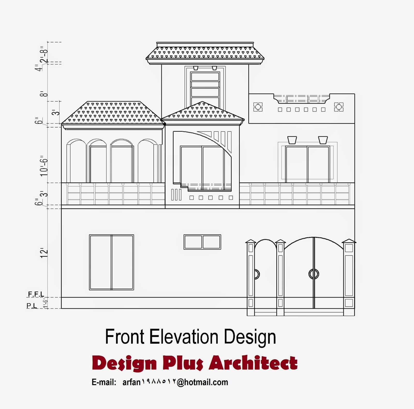 Home plans in pakistan home decor architect designer House plan and elevation drawings