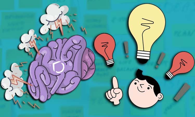 إستخدام العصف الذهني Brainstorming للحصول على افكار فيديوهات وتدوينات