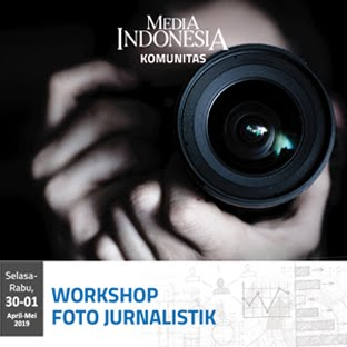 WORKSHP FOTO JURNALSTIK: 30 APRIL - 1 MEI 2019