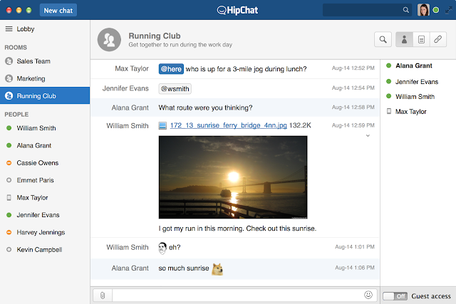 hipchat free download full software offline setup