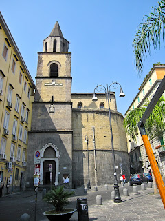 The Naples Conservatory adjoins the church of San Pietro a Majella