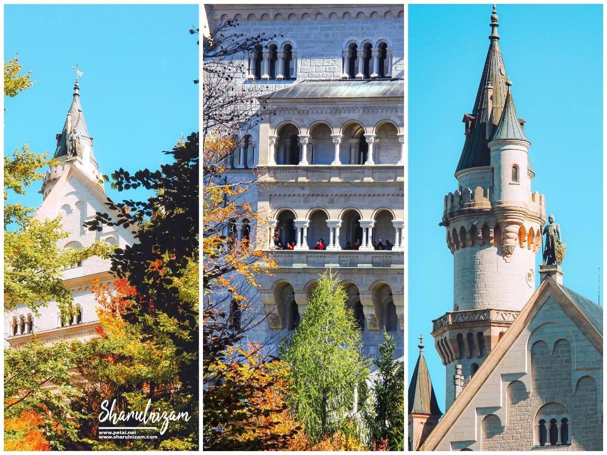 Musim Luruh Di Neuschwanstein Castle 3