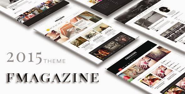 Best Magazine Blog WordPress Template