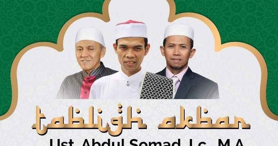 Jadwal Ceramah UAS (USTAD ABDUL SOMAD) Ke Semarang Jawa ...