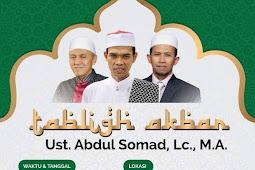Jadwal Ceramah UAS (USTAD ABDUL SOMAD) Ke Semarang Jawa Tengah 2018