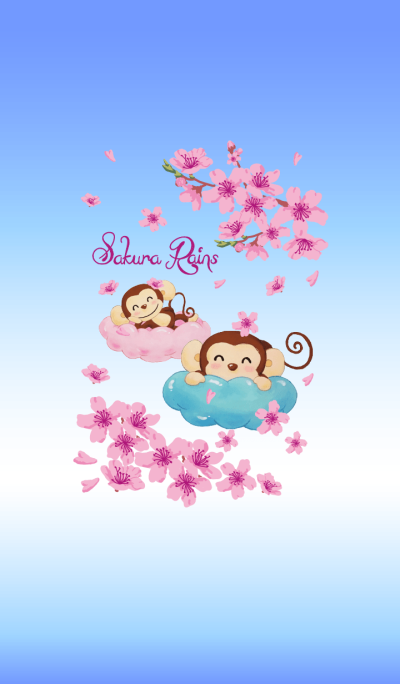 Smiling little monkey~Sakura Rains-2