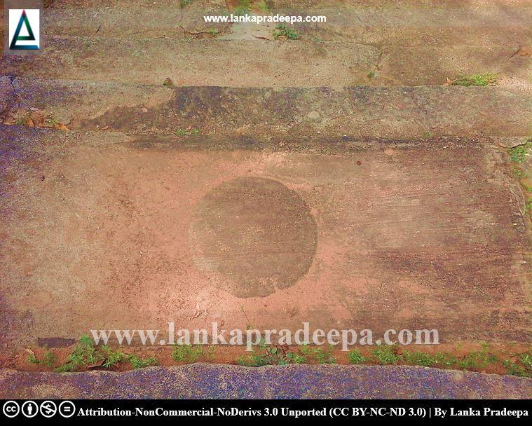 Ruins of Udayagiriya temple