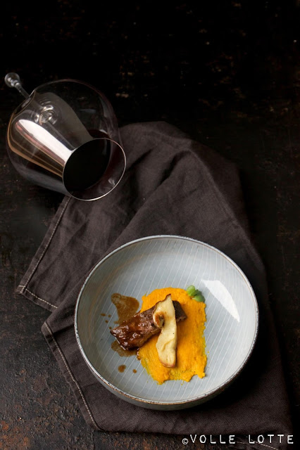 Steinpilzen, Rezept, Herbst, kochen, schmoren, einfach, Kürbis, Foodpairing
