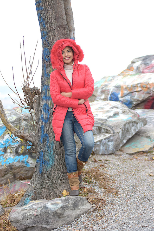 High Rock -MariEstilo-maristilotravels-fashionblogger-winterstyle-red jacket-tommy hilfiger-ArmandHugon