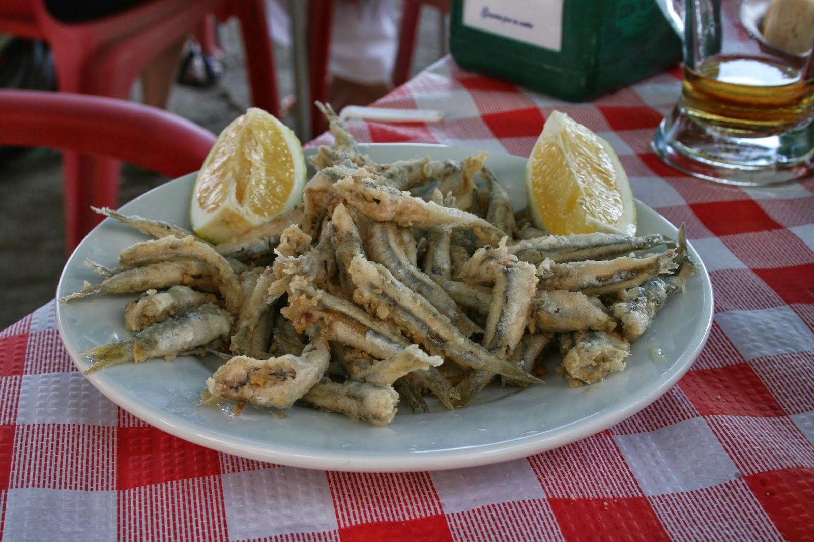 Pescado frito espana