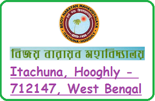 Bejoy Narayan Mahavidyalaya, Itachuna, Hooghly - 712147, West Bengal