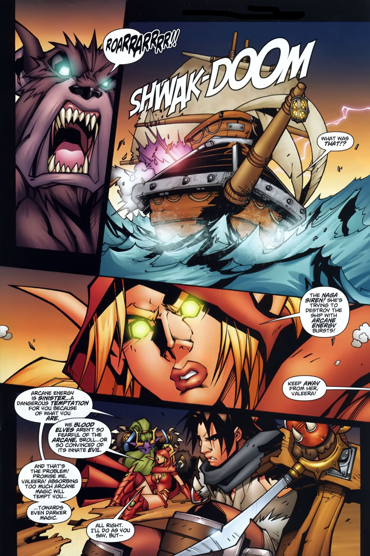 Read online World of Warcraft comic -  Issue #7 - 10