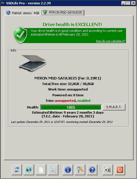Программа SSDlife