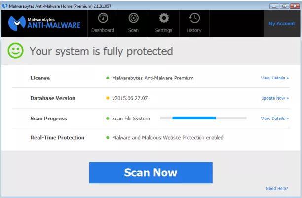 Malwarebytes Anti-Malware 2.2.1 Full