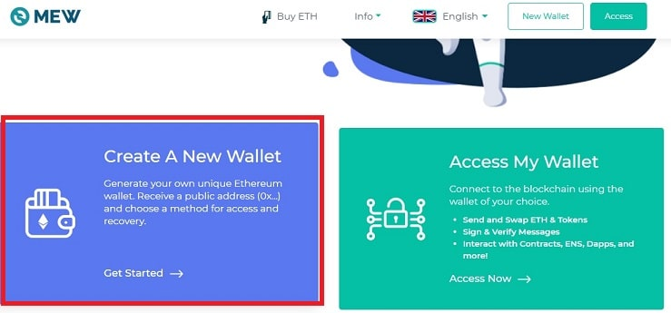 Guardar Criptomoneda ICON (ICX) en wallet
