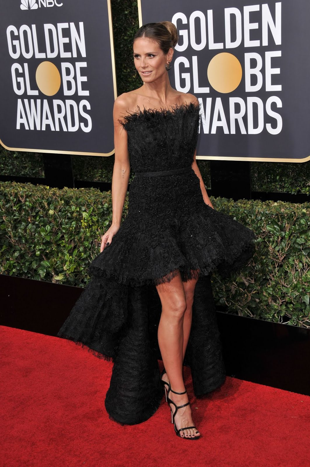 Heidi Klum At 75Th Annual Golden Globe Awards In Beverly Hills 2018