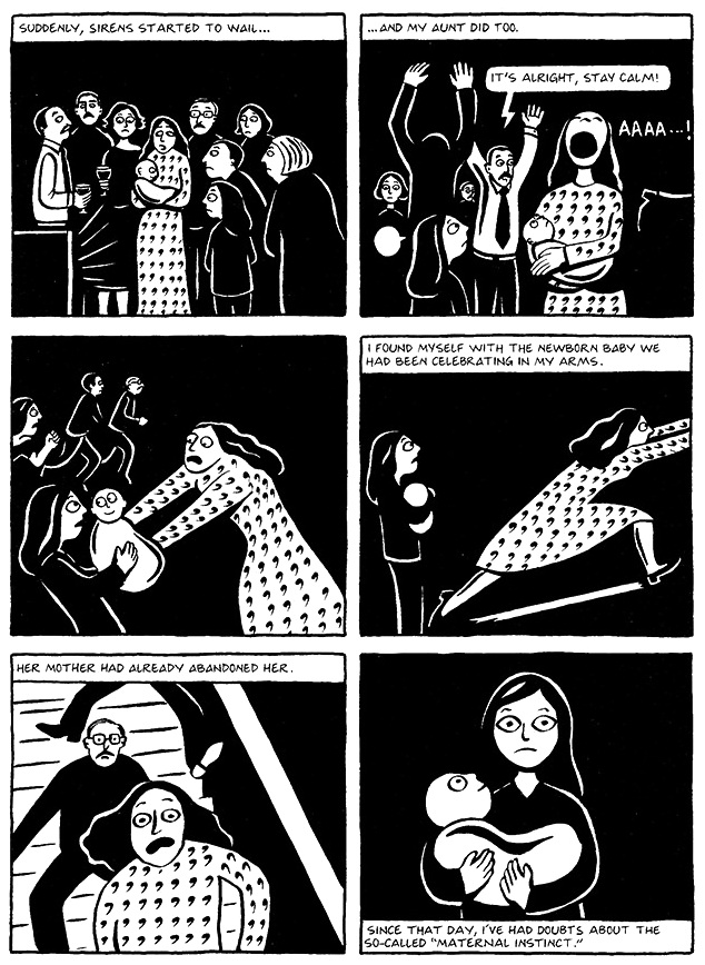 Read Chapter 14 - The Wine, page 105, from Marjane Satrapi's Persepolis 1 - The Story of a Childhood