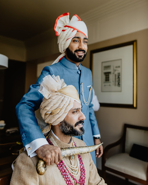 Anand Ahuja with brother Anant