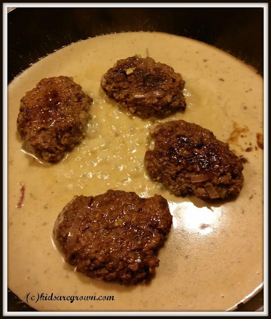 Salisbury Steaks in Gravy