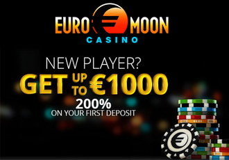 welcome bonus euromoon casino