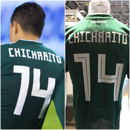 competitive price 372d0 825f9 Mexico Debuts 'Bad' Adidas 2018 World Cup Font - Footy Headlines