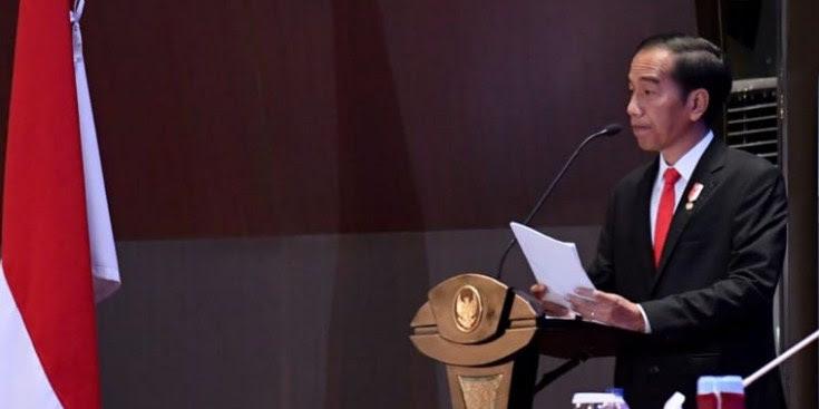 Jokowi: Bisnis Supermarket Dulu Mapan, Sekarang Tunggang-Langgang