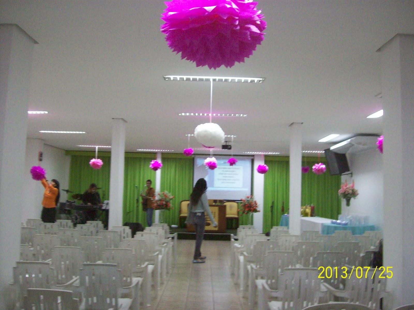 Decoraç u00e3o Para Festividade De Igreja Evangelica -> Decoração Simples Para Festividade De Igreja Evangelica