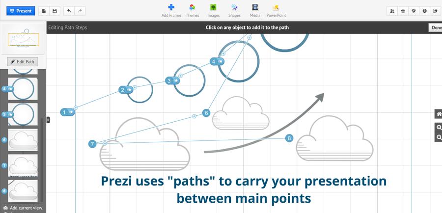 Prezi Pro 6.16 [Full] One2up โปรแกรมทำพรีเซนต์เตชั่น สร้างE-Learning