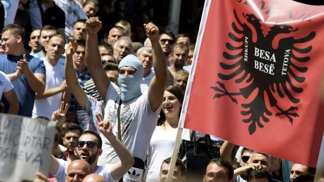 """Η Μόσχα κατηγορεί ΝΑΤΟ, ΕΕ ότι προωθούν την πλατφόρμα της """"μεγάλη Αλβανία"""" στην ΠΓΔΜ"""