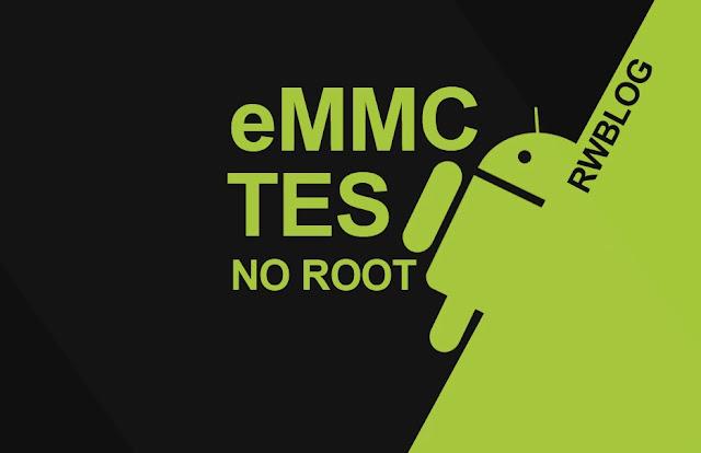 cara cek kondisi ic emmc tes tanpa root dengan sp flash tool