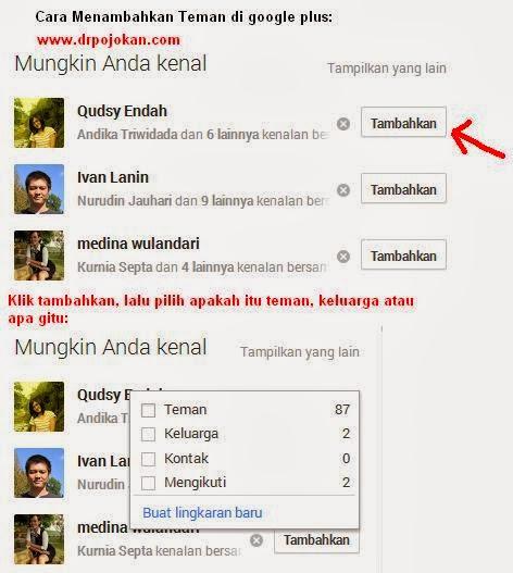 cara mudah memakai google+