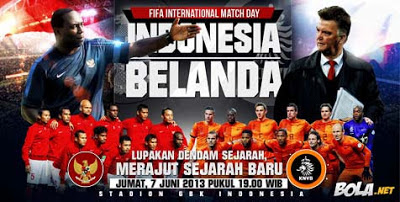 hasil pertandingan indonesia vs belanda