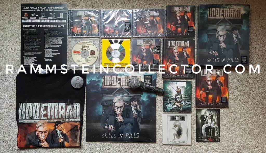 Lindemann Fish On Digipack  C2 B7 2015 Lindemann Skills In Pills Super Deluxe Edition  C2 B7 2015 Lindemann Skills In Pills Special Edition