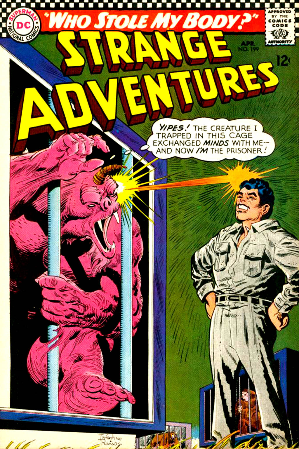 Strange Adventures (1950) issue 199 - Page 1