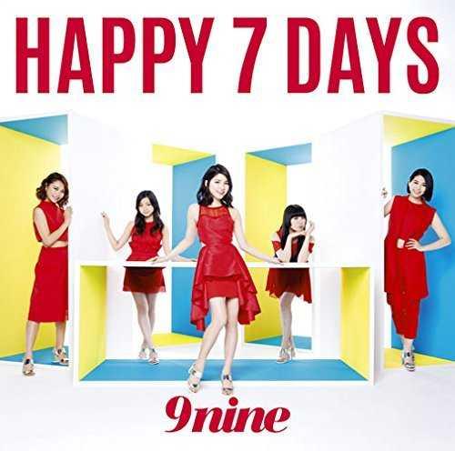 [Single] 9nine – HAPPY 7 DAYS (2015.06.17/MP3/RAR)